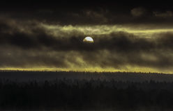Lapland, βόρεια Φινλανδία Στοκ Εικόνες