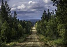 Lapland, βόρεια Φινλανδία Στοκ Φωτογραφίες