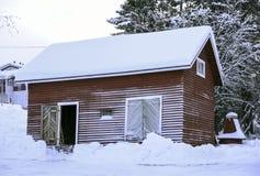 Lapland Hut Royalty Free Stock Image