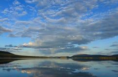 Lapland lake Stock Photo