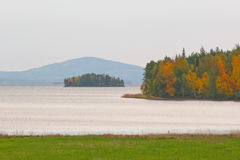 Lapland landscape in autumn Royalty Free Stock Image