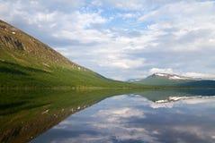 Lapland szwedzka sceneria. zdjęcia stock