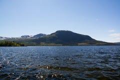 Lapland, Vaesterbotten, Szwecja fotografia royalty free