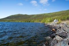 Lapland, Vaesterbotten, Szwecja zdjęcia royalty free