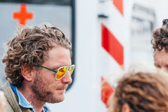 Lapo elkann, discussed italian tycon Stock Image