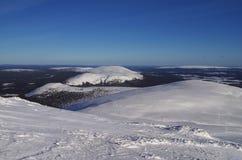 Laponia finlandesa fotos de archivo