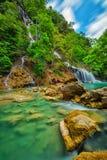 Lapopu Waterfall, Sumba Island, Indonesia stock photo
