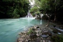 Lapopu waterfall on sumba island, Indonesia Royalty Free Stock Photography