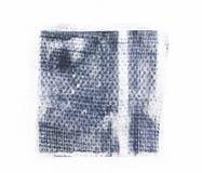 Lapp för Grungetygtextur som isoleras på vit bakgrund vektor illustrationer