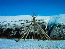 Lapp tent Stock Photo