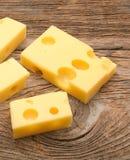 Lappa av ost fotografering för bildbyråer