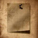 Lappa av pappers- tappning Royaltyfria Foton