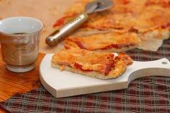 Lappa av Pizza Royaltyfri Bild