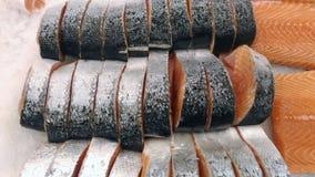 Lappa av röd fisk Arkivfoton