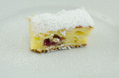 Lappa av tårtan Royaltyfri Foto
