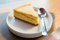 Lappa av tårtan royaltyfri bild