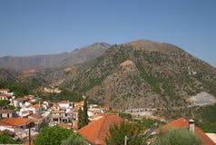 Lappa - Crete Imagen de archivo libre de regalías