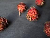 Lappaceum Nepehlium рамбутана стоковое фото