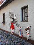 LAPPAD GATA, RIGA, LETTLAND Royaltyfri Foto