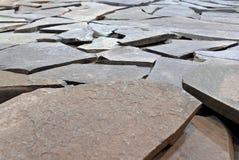 lappad trottoar Arkivbild