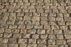 Lappad trottoartextur Arkivbild