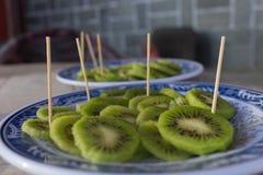 Lappar av kiwi arkivfoto