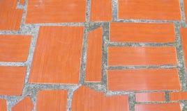 Lappar bakgrund för keramiska tegelplattor Arkivbild