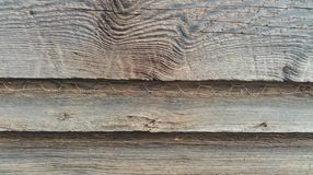 Lapped siding on an old shed in North Carolina Stock Images