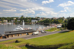 Lappeenranta bay, Finland Stock Photography