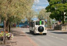 Lappeenranta. Finland. Excursion Fun Train Royalty Free Stock Photo