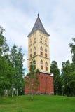 Lappeenranta, Finland. Kerk van St. Mary stock foto's