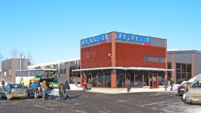 Lappeenranta. Finland. Laplandia Market Royalty Free Stock Image