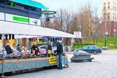 Lappeenranta. Finland. Pedestrian zone Oleksi Royalty Free Stock Image