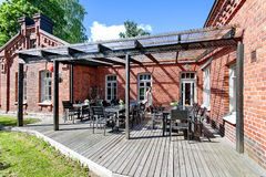Lappeenranta, Finland - restaurant, The old fort in the center of the city Stock Photo