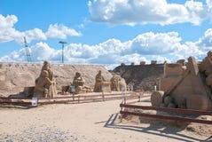Lappeenranta finland Sculptures en sable Images stock