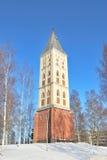 Lappeenranta, Finland. St. Mary Church stock afbeeldingen