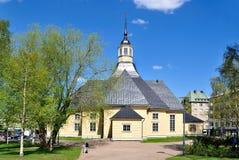 Lappeenranta, Finlande. Église Lappee images stock