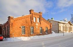 Lappeenranta Finlandia Ortodoksalna parafia Zdjęcia Royalty Free