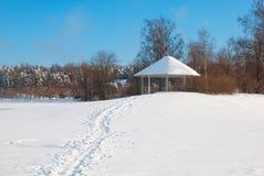 Lappeenranta Finlandia Pawilon na Halkosaari wyspie Zdjęcie Royalty Free
