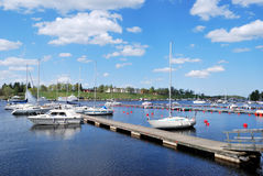 Lappeenranta Harbour. Finland Royalty Free Stock Images