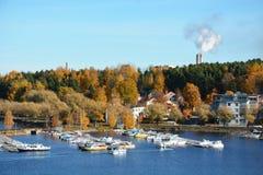 Lappeenranta harbour Stock Image