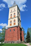 Lappeenranta. St. Mary Church Stock Images