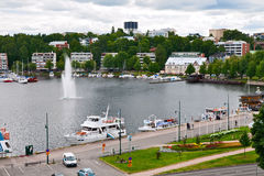 Lappeenranta top view Royalty Free Stock Photography