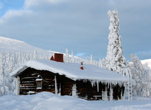 Lappland lizenzfreies stockfoto