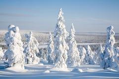 Lappland Finnland Stockfoto