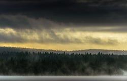 Lappland, Nord-Finnland Lizenzfreie Stockbilder