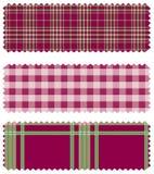 lapptextil royaltyfri illustrationer