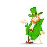 Laprachun op de Dag van Heilige Patrick Royalty-vrije Stock Afbeeldingen
