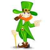 Laprachun on Saint Patrick's Day. Easy to edit vector illustration of Laprachun on Saint Patrick's Day royalty free illustration