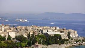 Laps de temps de Corfou, Grèce clips vidéos